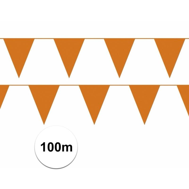 100 meter oranje vlaggenlijnen beste prijs