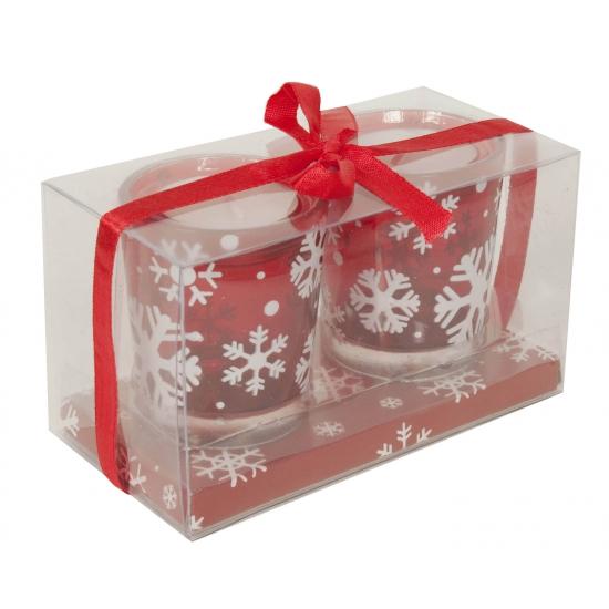 2 pak kerst lichtjes kaarsen