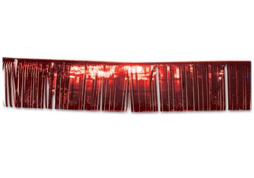 25 x 300 cm glitter slingers rood 2 stuks