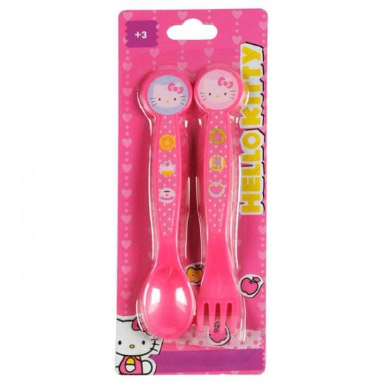 3 delige Hello Kitty bestekset