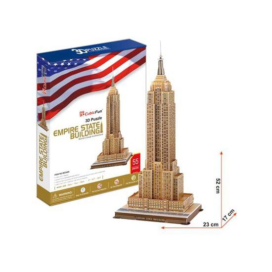 3d puzzels gebouwen Empire State
