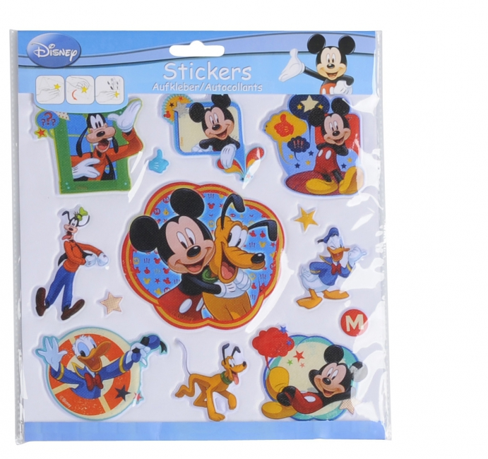 3D stickervellen Disney