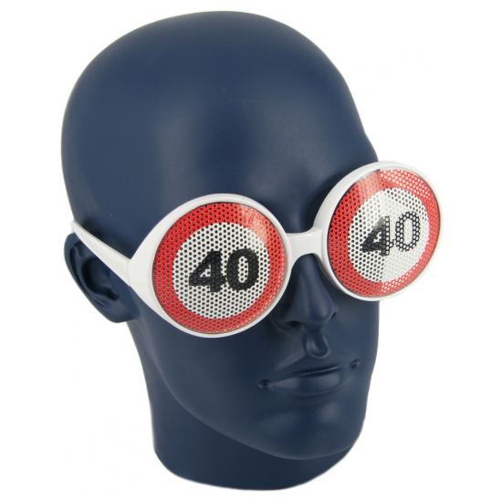 40 jaar verkeersborden bril