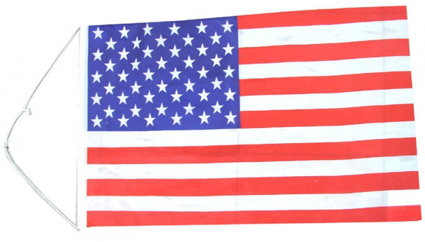 60 x 40 cm grote Amerikaanse vlag