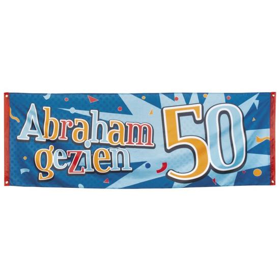 Abraham gezien feest banner 74 x 220