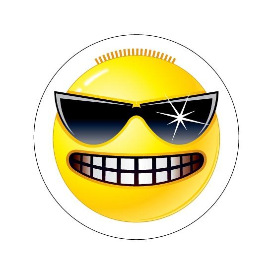 Agenda stickers Smileys type 3