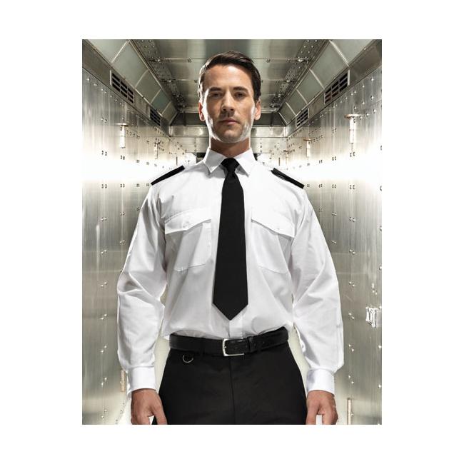 Air captain shirt lange mouw