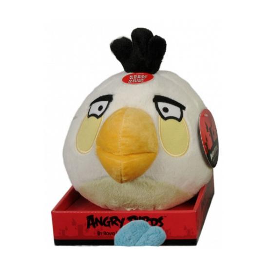 Angrybird knuffel Egg Bomb 12 cm