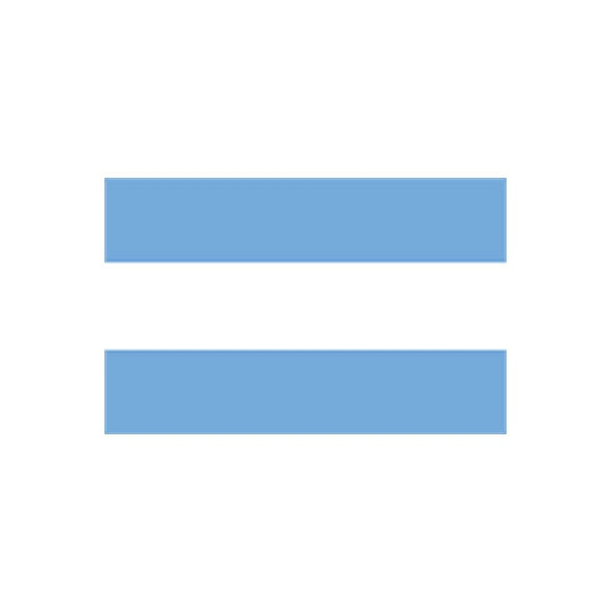 Argentijnse vlag 100x 150 cm