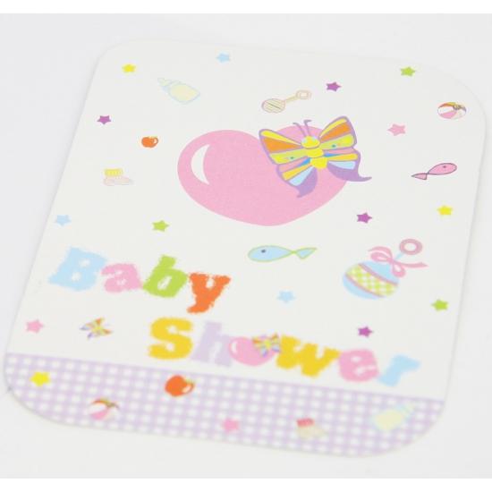 Babyshower kaarten