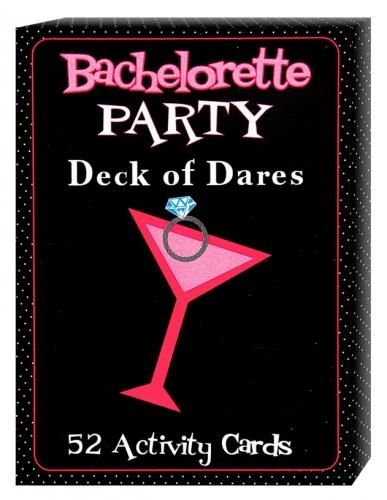 Bachelorette kaartspel met 52 uitdagingen
