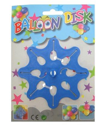 Ballon decoratie schijf