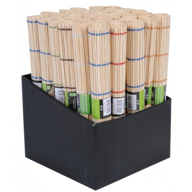 Bamboe placemat met kleurtje