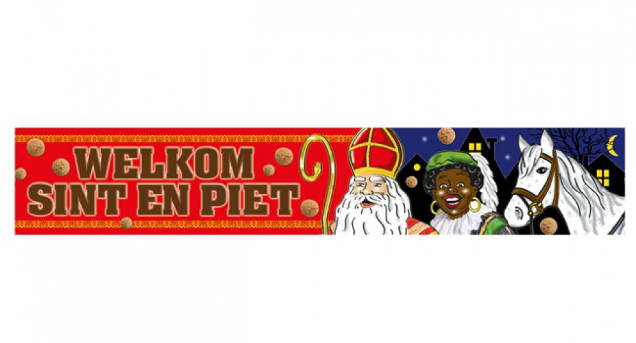 Banner Sinterklaas 360 x 60 cm