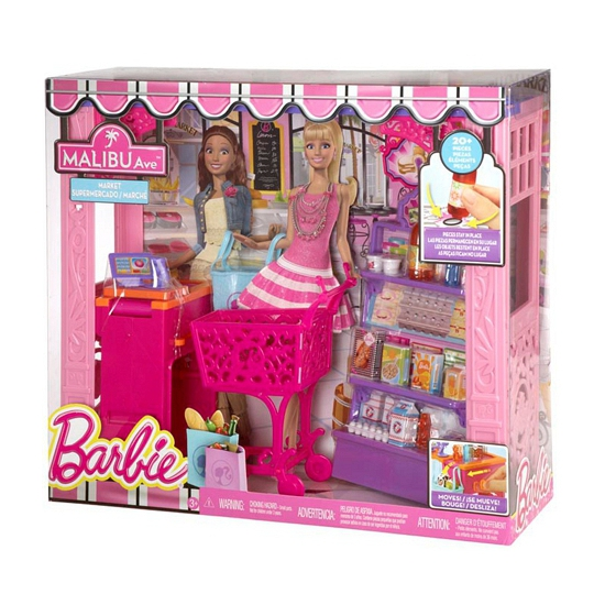 Barbie Malibu Avenue supermarkt