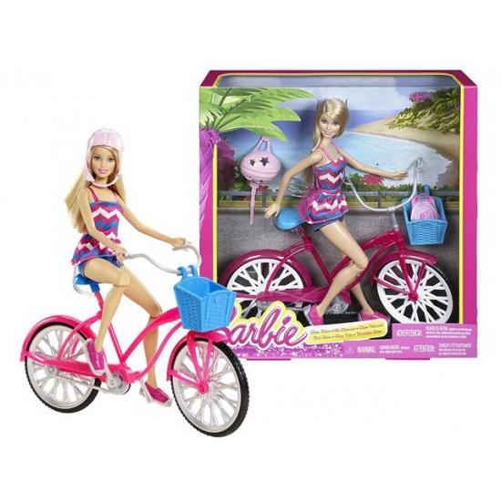Barbie speelgoed fiets