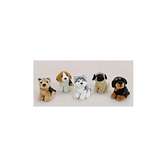 Beagle kado knuffel 11 cm