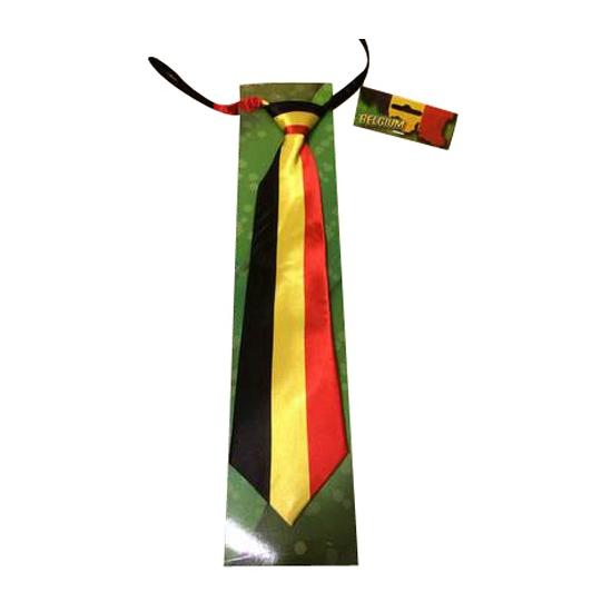 Belgie vlag stropdassen