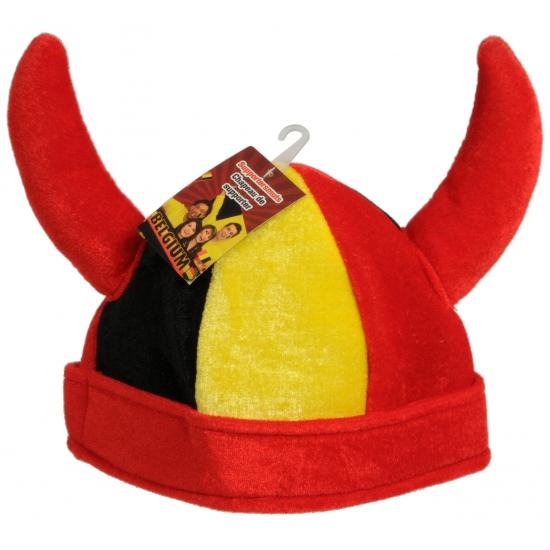 Belgische supporters hoeden