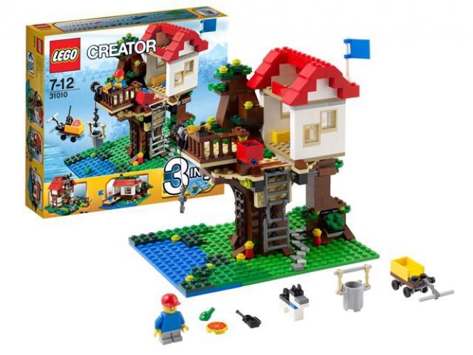 Beste prijs Lego 31010 Boomhuis