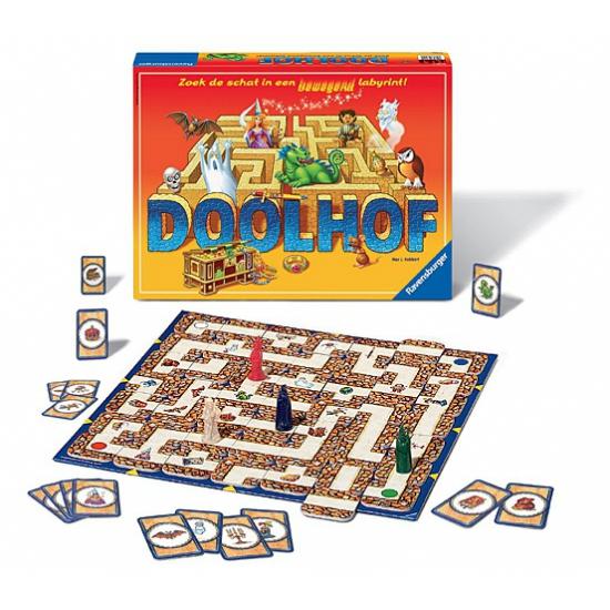 Betoverend doolhof spel