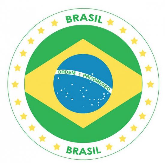 Bierviltjes in Brazilie thema