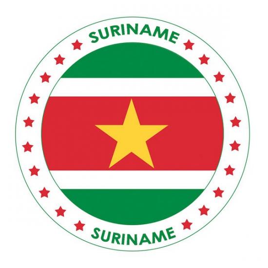 Bierviltjes in Suriname thema