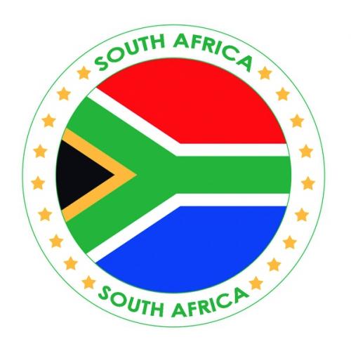 Bierviltjes in Zuid Afrika thema