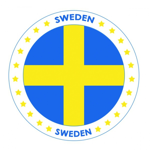 Bierviltjes in Zweden thema