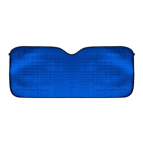 Blauw autoscherm voor de zon