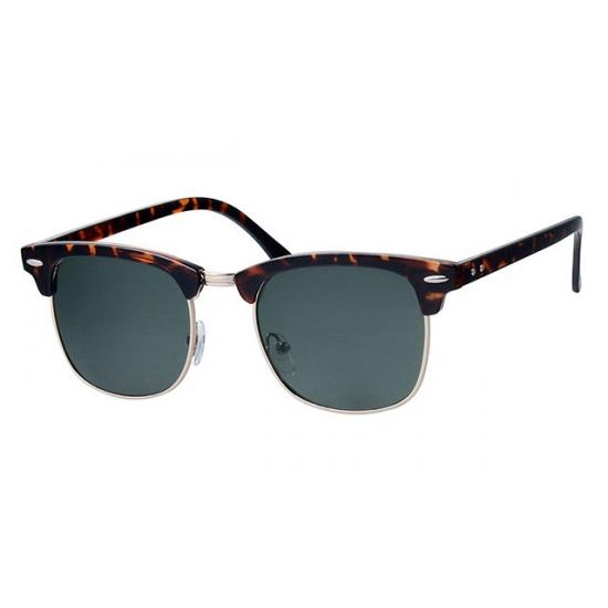 c4d9c52d7385eb Bruine Clubmaster zonnebril