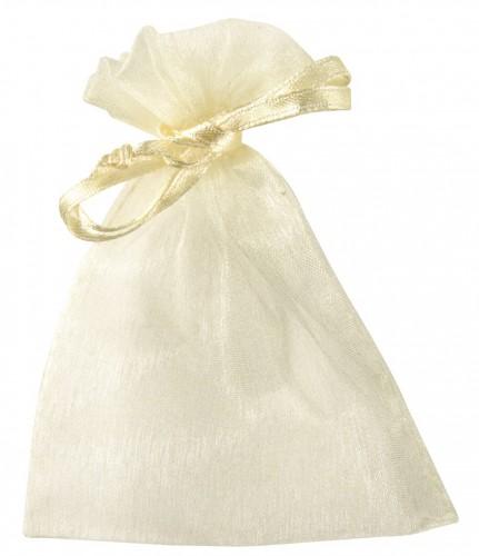 Cadeau zakjes creme van organza