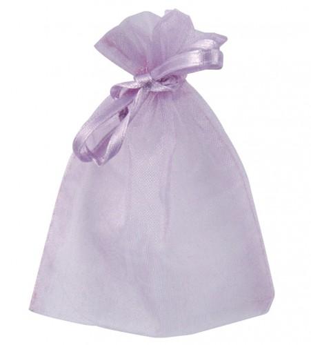 Cadeau zakjes paars van organza