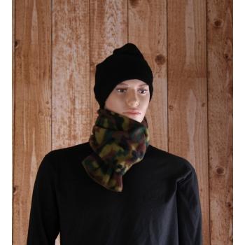 Camouflage fleece sjaal