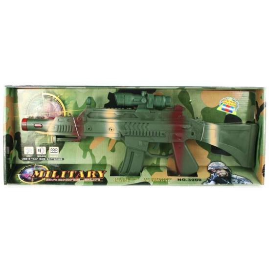 Camouflage machinegeweer met trilfunstie