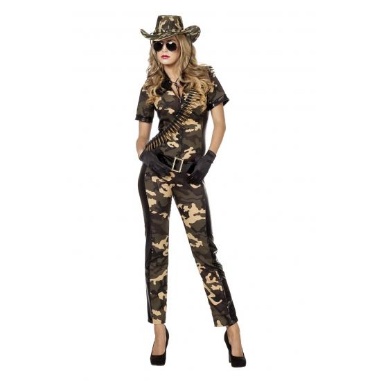 Camouflage overall voor dames