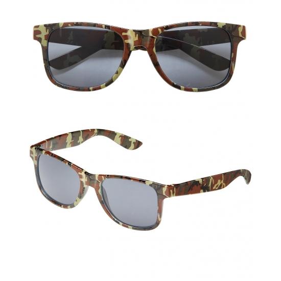 Camouflage zonnebril