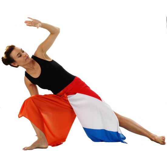 Capoeira broek in Nederlanse kleur