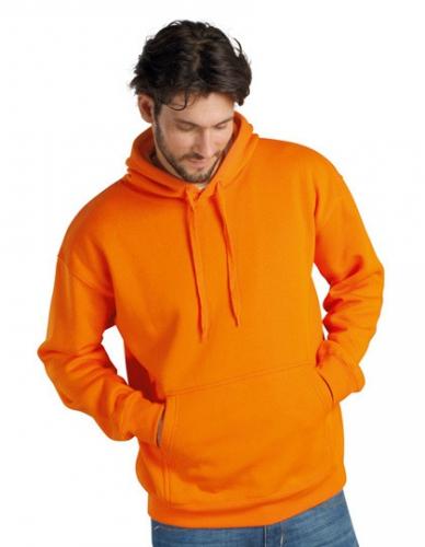 Capuchon truien in de kleur oranje