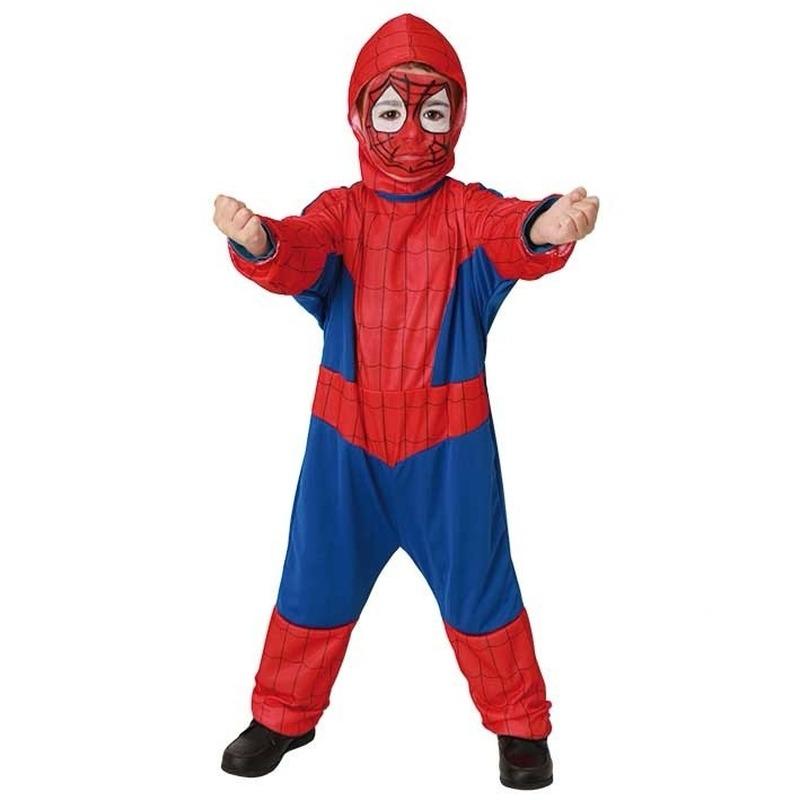 Carnaval spinnen held pak voor kinderen