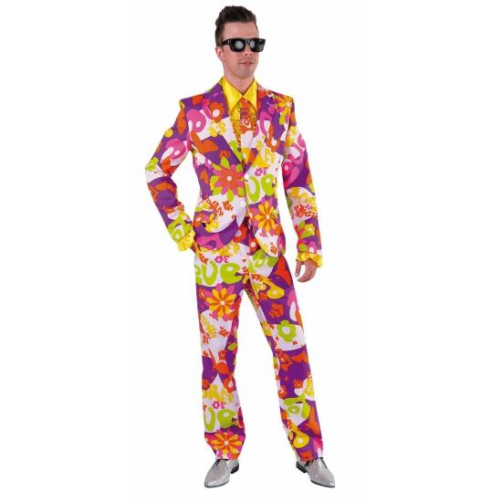 Carnavalskleding heren kostuum flower love