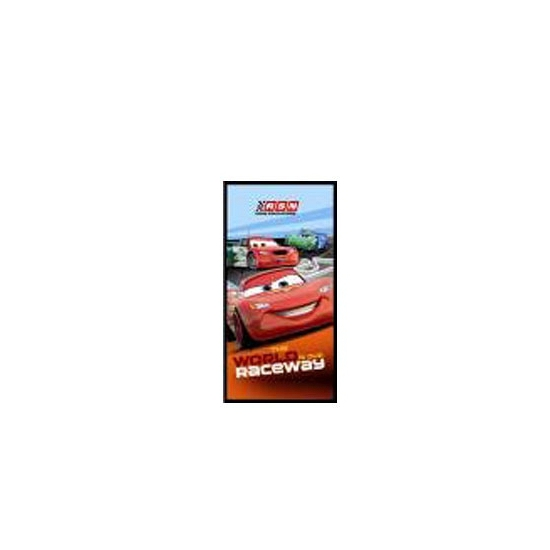 Cars raceway strandlaken 150 cm