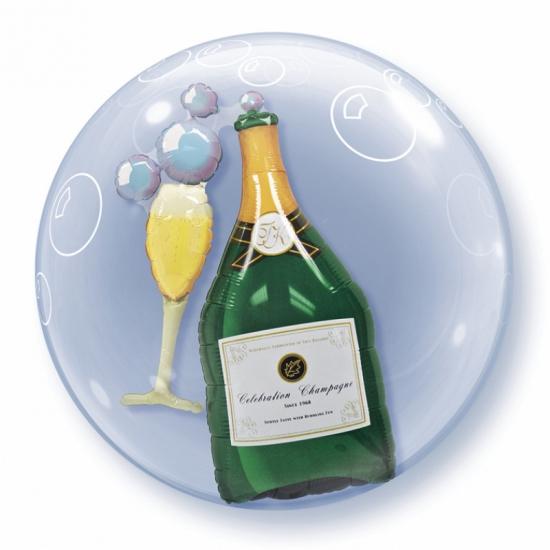 Champagne folieballon 60 cm