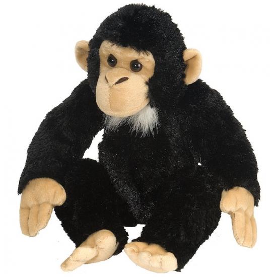 Chimpansee knuffeldieren 30 cm