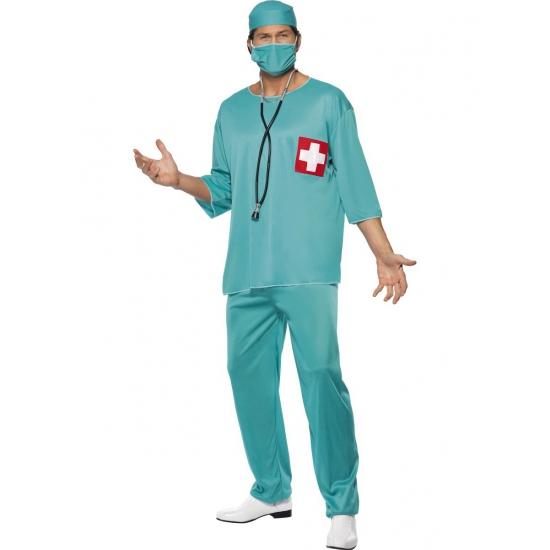 Chirurg carnavalskleding heren