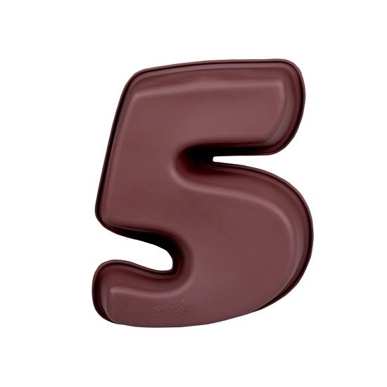 Cijfer bakvorm nummer 5