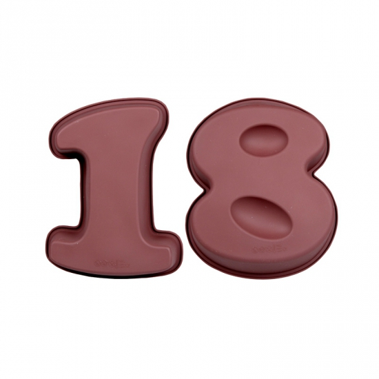 Cijfer bakvormen achttien
