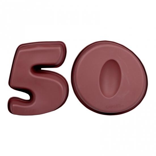 Cijfer bakvormen vijftig