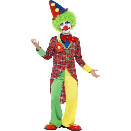Clown carnaval outfit voor kids