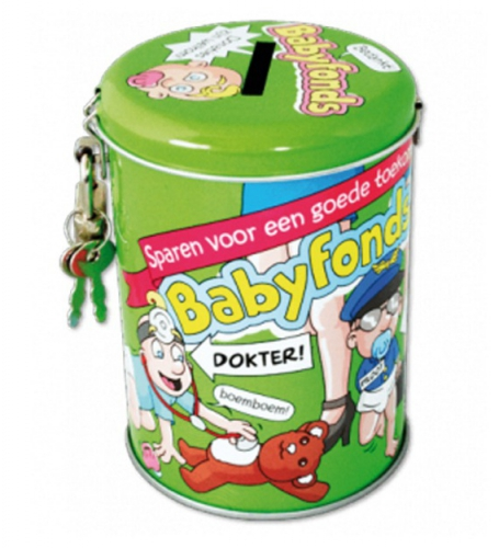 Collectebussen Babyfonds 10 cm